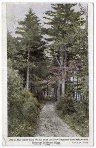 Melrose, Mass, One of the many nice Walks near New England Sanitarium & Hospital