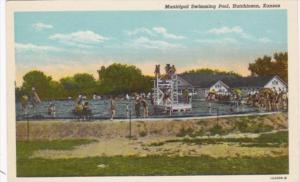 Kansas Hutchinson Municipal Swimming Pool Curteich