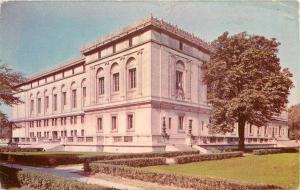 Detroit Michigan~Detroit Public Library Italian Renaissance Architecture 1950 PC