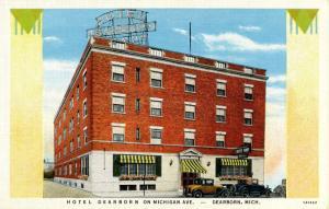 MI - Dearborn. Hotel Dearborn on Michigan Avenue