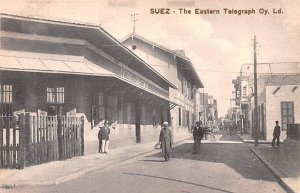 The Easter Telegraph Suez Egypt, Egypte, Africa Unused