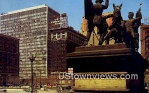 Public Square Cleveland OH Unused
