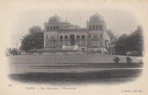 PARIS, France , 1901-07; Parc Montsouris, l'Observatoire