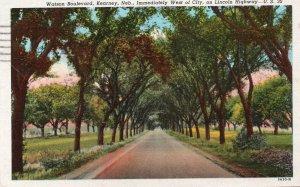 11216 Watson Boulevard, Lincoln Highway, Kearney, Nebraska 1948