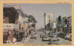 Florida Lakeland Main Street Looking East Dexter Press sk4161