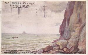 Lover's Retreat , Scarboro Bluffs, Toronto , Ontario , Canada , 1918 ; Arti...