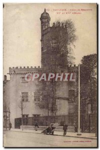 Toulouse - Hotel Roquette - Old Postcard