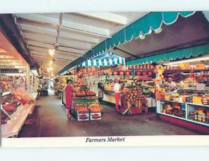 Pre-1980 FARMERS MARKET AT SHOPPING CENTER Los Angeles California CA hn0531