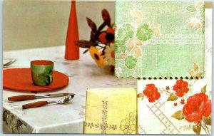 1950s Philadelphia PA Ad. Postcard PRESSING SUPPLY COMPANY Plastic Table Cover
