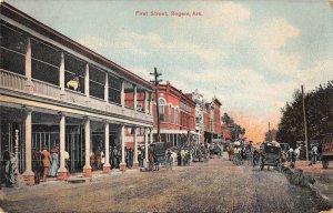 Rogers Arkansas First Street Vintage Postcard AA27699