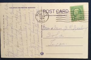 Postcard Used Joanne's Park Green Bay WI LB