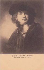 Rembrandt suo Ritratto dipinto da se stesso Galleria Pitti Firenze