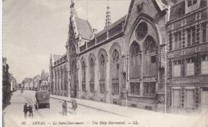 ARRAS, Pas De Calais, France, 1900-1910's; The Holy Sacrament