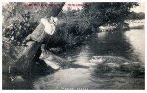 17829   Exzaggeration Giant Bass chasing Fisherman