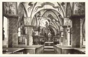 RP  Visingso. Brahekyrkan. Sweden, 30-50s