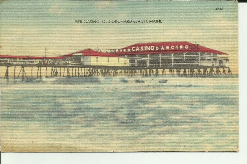 Old Orchard Beach, Maine, Pier Casino