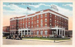 Hotel Cumberland Middlesboro KY