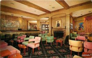 1950s Captains Gallery Lighthouse Inn Interior Connectticut Colorpicture  6826