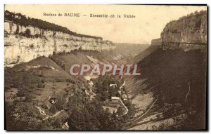 Old Postcard Rock Baume la Vallee Set