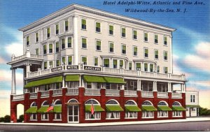 New Jersey Wildwood By The Sea Hotel Adelphi-Witte