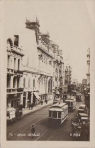 Argentina Buenos Aires Calle Layalle Trolleys Photo