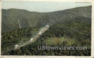 Trains Ascending White Mountains NH 1914