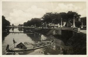 indonesia, JAVA SOERABAIA, Ngemplak, Native Boat (1928) RPPC Postcard