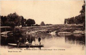CPA ACHERES - SEINE Pitt. - Croix d'Acheres (246905)