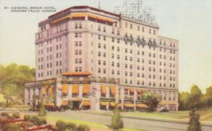 NIAGARA FALLS, Ontario, Canada, 1940-1960´s; General Brock Hotel
