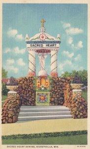 DICKEYVILLE, Wisconsin, 1940; Sacred Heart Shrine