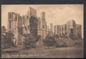 Warwickshire Postcard - Kenilworth Castle From Outer Court   DC2617
