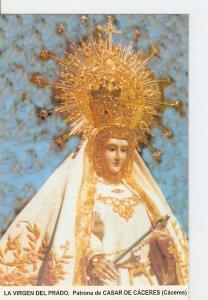 Postal 026881 : La Virgen del Prado, Patrona de Casar de Caceres (Caceres)