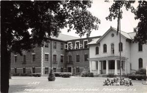 A83/ Princeton Illinois Il Real Photo RPPC Postcard c40s Covanent Childrens Home