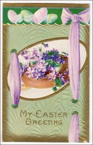 My Easter Greetings - Flowers