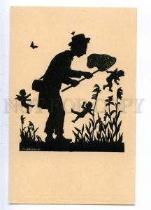187135 Naturalist ELF by Anna SCHIRMER Vintage SILHOUETTE PC