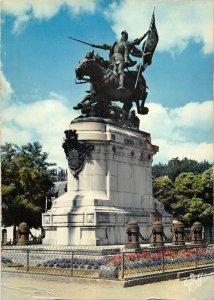 B110489 France Chinon Statue Equestre de Jeanne d'Arc Monument