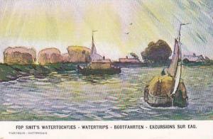 Fop Smits Watertochtjes-Watertrips-Bootfahrten-Excursions Sur Eau , Netherlan...
