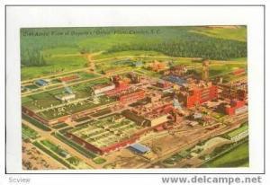 Aerial, Dupont´s Orlon Plant, Camden, SC, 30-40s