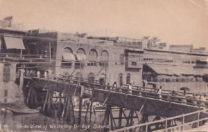 Whiteley Bridge Euphrates Iraq Old Postcard