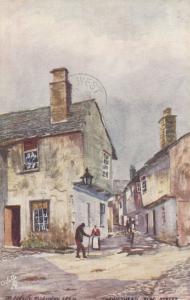 HAWKSHEAD, Lancashire, England, PU-1908; Flag Street; TUCK 7242