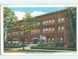 Linen HOTEL SCENE Mount Clemens Michigan MI B4231