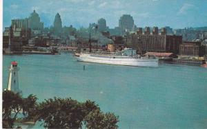Lighthouse , Ocean Liner , MONTREAL , Quebec , Canada , 50-60s
