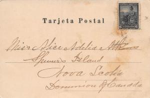 Rosario de Santa Fe, Plaza 25 Mayo, Argentina, Early Postcard, Used