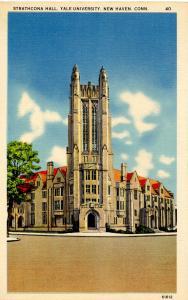 CT - New Haven - Yale University. Strathcona Hall