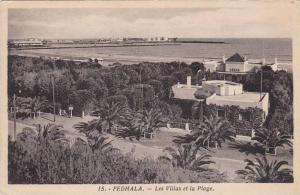 Les Villas Et La Plage, Fedhala, Morocco, Africa, 1900-1910s