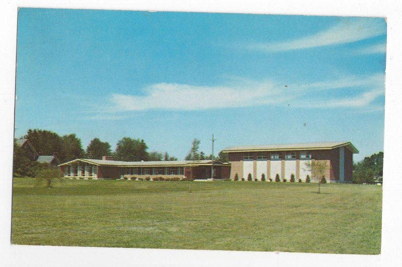 Schenectady NY Dominican Retreat House for Women Vintage New York Postcard