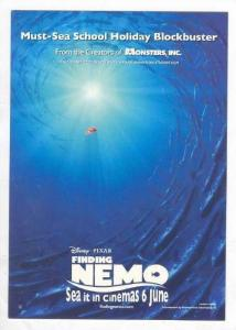 Disney, Finding Nemo, Going to surface, 1990s