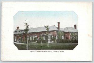 Groton School Massachusetts~Brooks House~Rectangle Portal w/Fancy Corners~1910