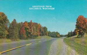 Wisconsin Greetings From Clumbus
