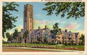Ohio Toledo University Of The City Of Toledo Curteich